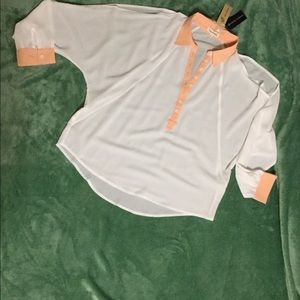 Blouse - open shoulders NWT